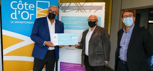 Un chèque « Energie » pour le département de la Côte d'Or