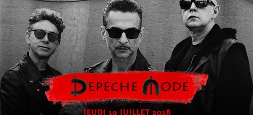 Les DEPECHE MODE en Bretagne en juillet 2018
