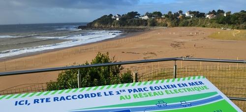 A Saint Nazaire, les travaux démarrent pour raccorder le futur parc...