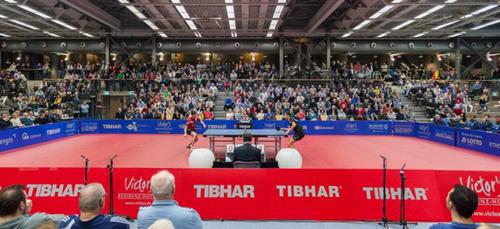 Tennis de Table. ¼ de finale aller de la Ligue des Champions