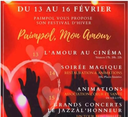 """1ère édition du festival """"Paimpol, mon amour"""""""