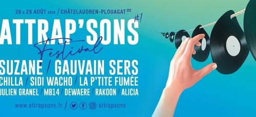 """Festival """"ATTRAP'SONS"""", les 28 & 29 août à Châtelaudren-Plouagat"""