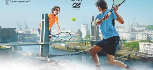 Annulation de l'open de tennis de Brest