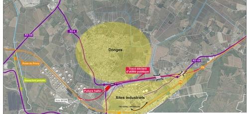 Démarrage des travaux du contournement ferroviaire de Donges