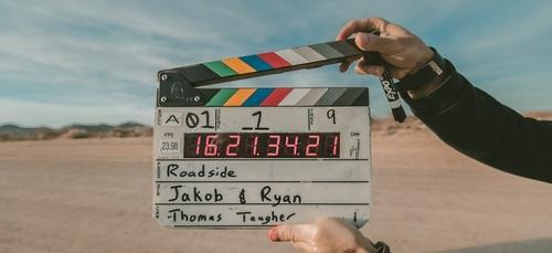 Une équipe de cinéma à Guingamp