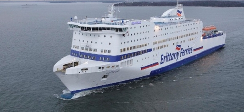 Loig Chesnais Girard au secours de la Brittany Ferries