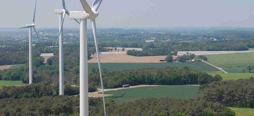 Un sentier d'interprétation au sein du parc éolien citoyen de...