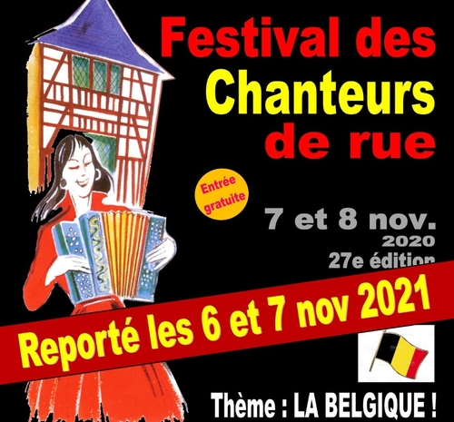 Annulation du festival des chanteurs de rue