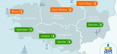 Les Côtes d'Armor encore en vigilance orange pollution
