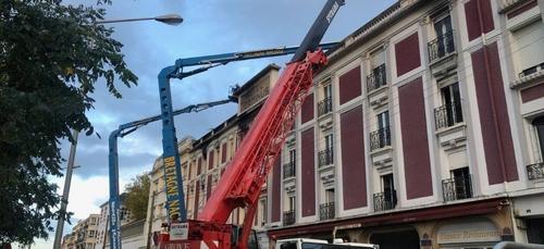 """"""" Le Terminus """" à Lorient mis hors d'eau."""