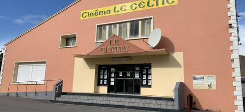 Réouverture du cinéma Le Celtic à Baud (56).
