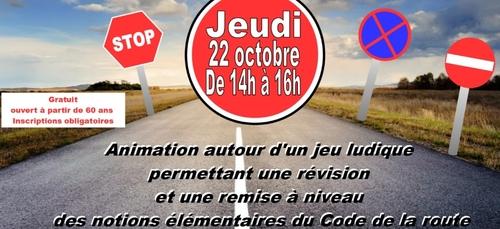 Remise à niveau du code de la route à Pont-l'Abbé (29)