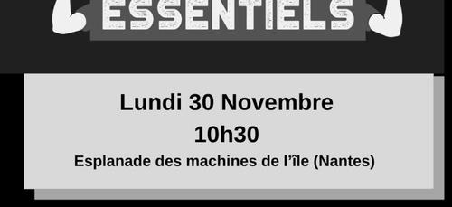 Manifestation des restaurateurs et cafetiers à Nantes
