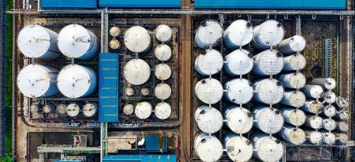 """Une fuite à la raffinerie """"Total"""" de Donges"""