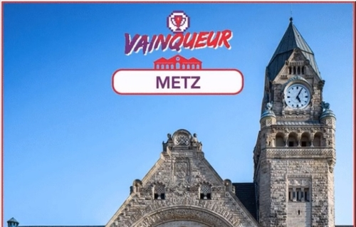 Metz réélue Plus belle gare de France
