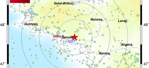 Morbihan : la terre a tremblé