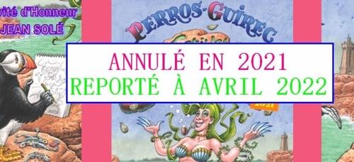 La 27e édition du Festival BD de Perros-Guirec est annulée