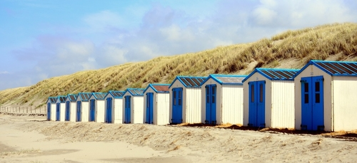Le retour des cabines de plage dans le pays de Lorient