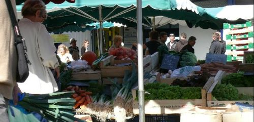 Retour du marché à St Nolff