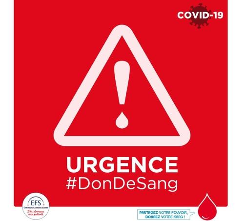Le don de sang devient urgent !