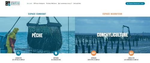 Une plateforme d'emploi dédiée aux métiers de la mer