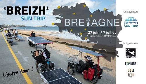 De Lorient à Saint-Malo : un tour inédit de la Bretagne à vélo solaire