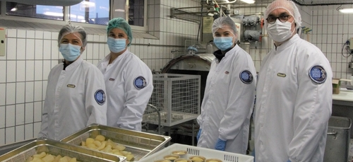 Encore des repas bretons pour l'astronaute Thomas Pesquet