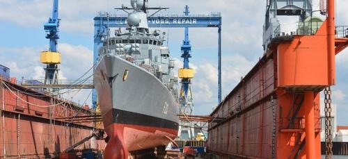 Lorient aura son nouvel élévateur à bateaux.