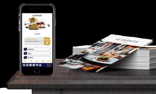 Une start-up de Quimper invente une appli qui remplace les menus...