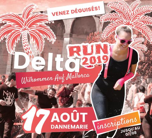 Delta Run avec Radio ECN
