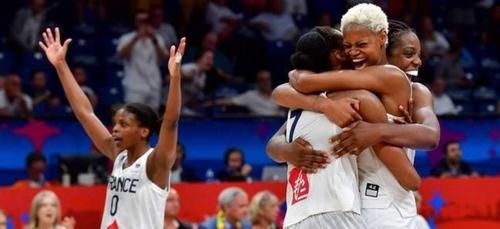 Basket : Les Bleues en 1/2 finale de l'Euro !