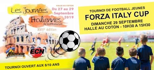 Journées Italiennes à Wittenheim : participez au tournoi Forza...