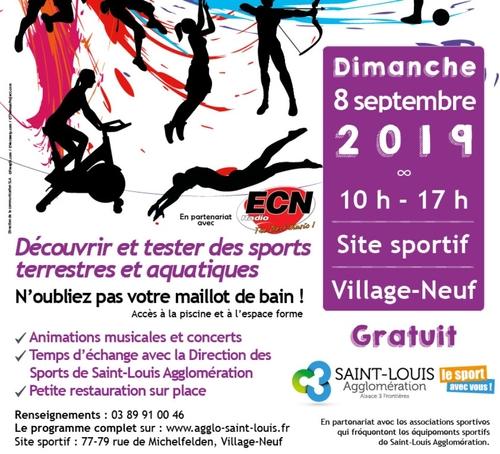 Saint-Louis Agglo : Sport en Fête en partenariat avec Radio ECN