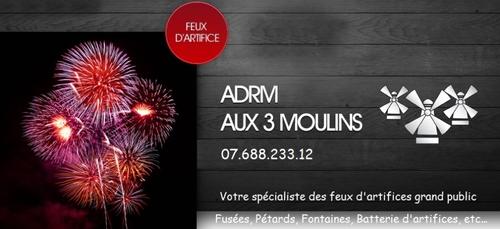 Gagnez vos feux d'artifice avec ADRM Aux 3 Moulins