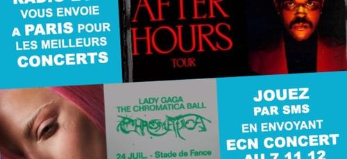 Radio ECN et OUTLET CITY vous envoient à Paris pour assister aux...