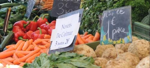 Reprise des livraisons par les commerçants du marché de Mulhouse