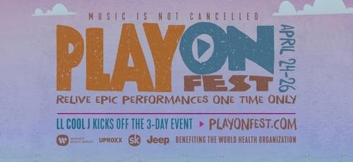 PlayOnFest : un festival en ligne caritatif durant tout le week-end