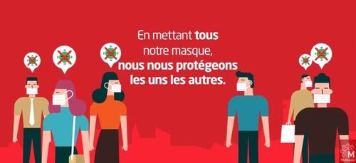 Distribution des masques à Mulhouse ce week-end