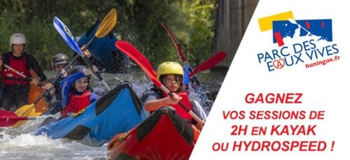 Gagnez vos entrées au Parc des Eaux Vives !