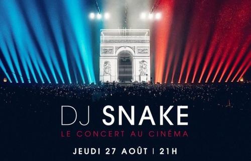 Dj Snake au cinéma le 27 août