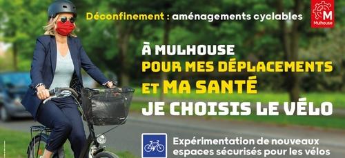 La Ville de Mulhouse mobilisée pour faciliter les déplacements...