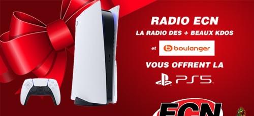 Radio ECN et BOULANGER Wittenheim vous offrent la PS5 !