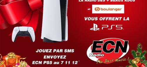 Gagnez la PS5 version digitale avec Radio ECN et Boulanger !