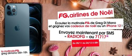 La FG Airlines de Noël