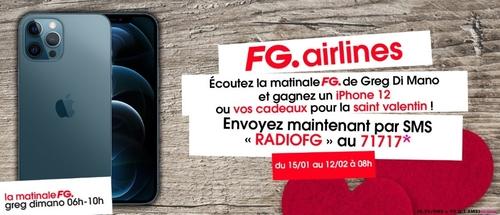 La FG Airlines spéciale St Valentin