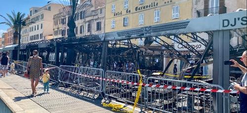 En Corse, plusieurs incendies ont eu lieu dans des établissements...