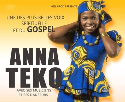 ANNA TEKO -  L'UNE DES PLUS BELLE VOIX DU GOSPEL