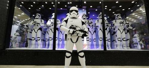 Des animations Star Wars chez Westfield