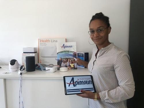 « Apimoun », une solution innovante, créée par une martiniquaise,...
