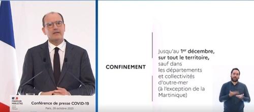 Jean Castex annonce que la Martinique est le seul territoire...